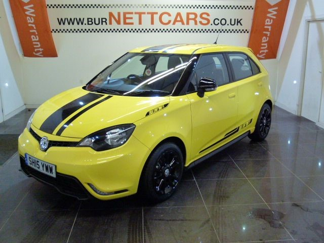 used MG 3 3 STYLE LUX VTI-TECH in chorely-lancashire
