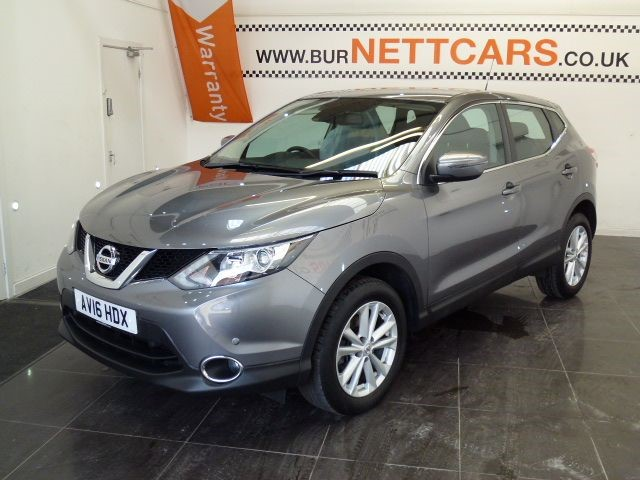 used Nissan Qashqai ACENTA DIG-T SMART VISION in chorely-lancashire