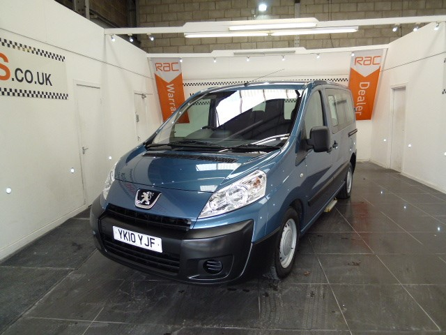 used Peugeot Expert Tepee TEPEE COMFORT L1 HDI 90 5STR in chorely-lancashire
