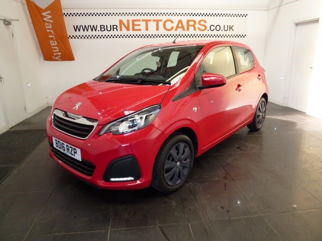 used Peugeot 108 ACTIVE in chorely-lancashire