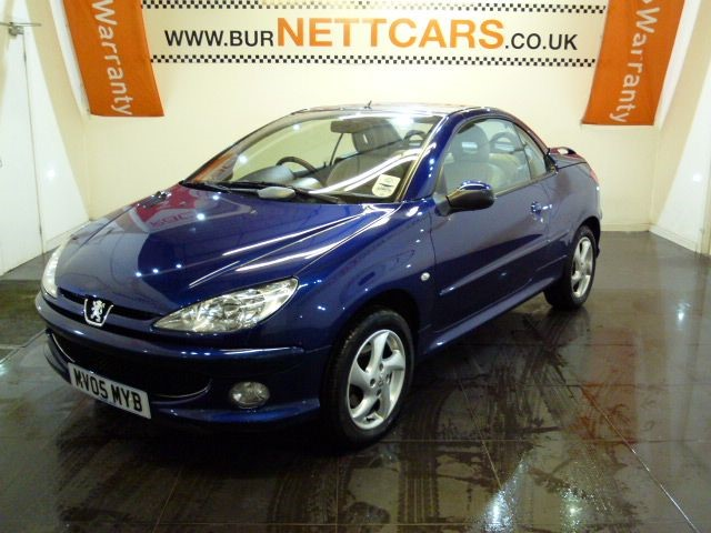 used Peugeot 206 ALLURE S COUPE CABRIOLET in chorely-lancashire
