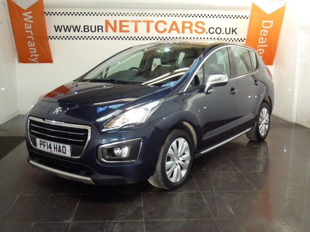 used Peugeot 3008 HDI ACTIVE in chorely-lancashire