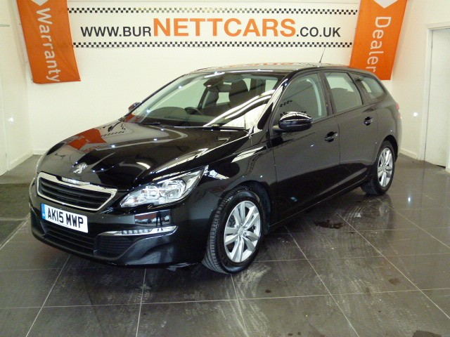 used Peugeot 308 BLUE HDI S/S SW ACTIVE ESTATE SAT NAV in chorely-lancashire