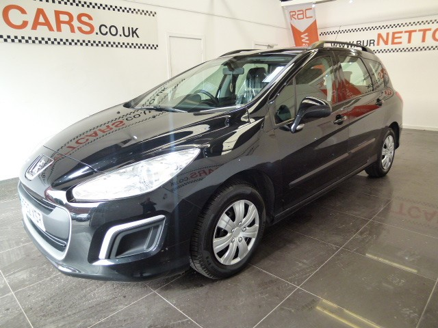used Peugeot 308 sw estate 1600 hdi in chorely-lancashire