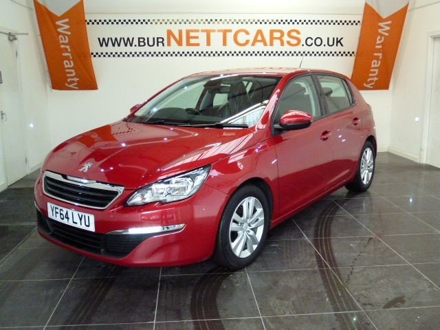 used Peugeot 308 HDI ACTIVE in chorely-lancashire