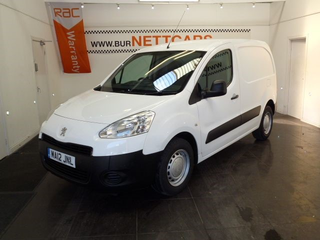 used Peugeot Partner HDI S L1 850 in chorely-lancashire