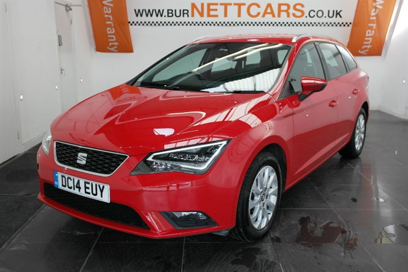 used SEAT Leon TDI SE TECHNOLOGY in chorely-lancashire