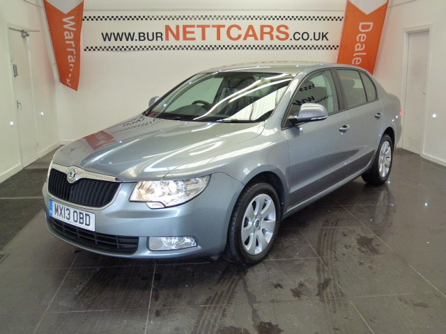 used Skoda Superb S TDI CR in chorely-lancashire
