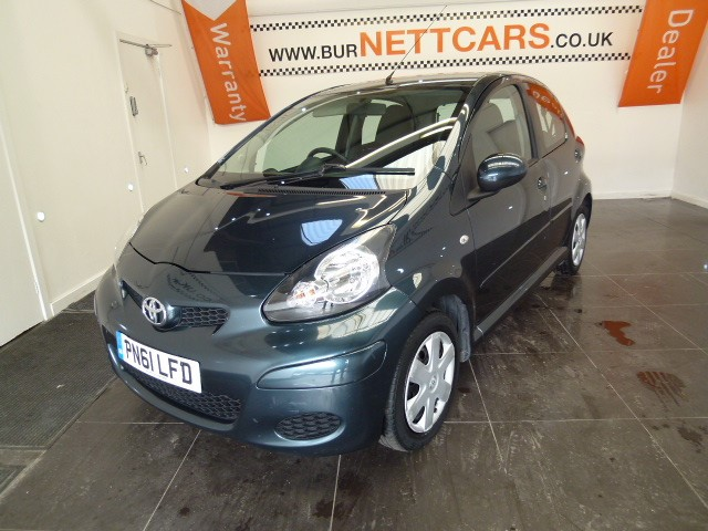 used Toyota Aygo VVT-I ICE in chorely-lancashire