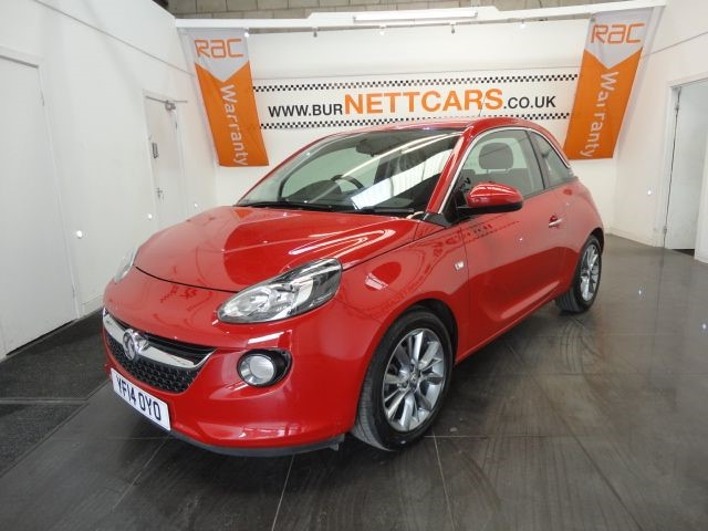 used Vauxhall Adam JAM in chorely-lancashire