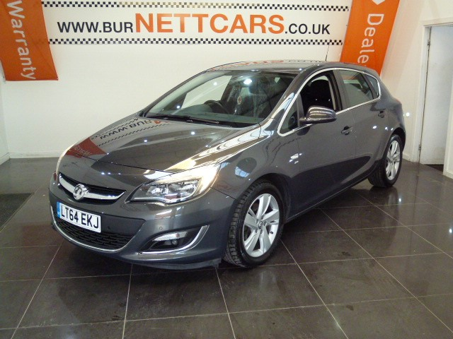 used Vauxhall Astra SRI CDTI in chorely-lancashire