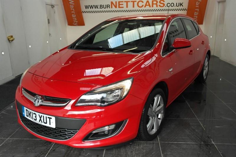 used Vauxhall Astra SRI in chorely-lancashire