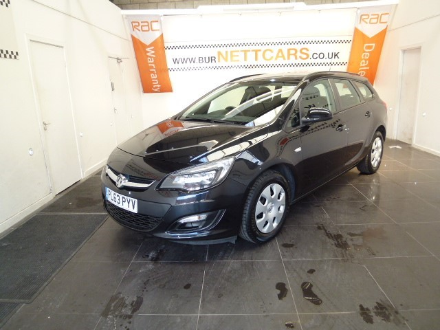 used Vauxhall Astra 1.3CDTI ES in chorely-lancashire