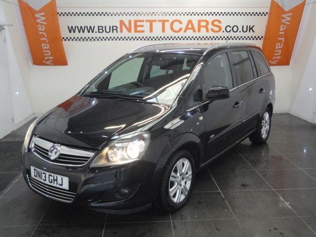 used Vauxhall Zafira DESIGN CDTI in chorely-lancashire
