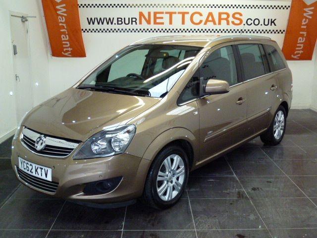 used Vauxhall Zafira DESIGN NAV CDTI ECOFLEX in chorely-lancashire