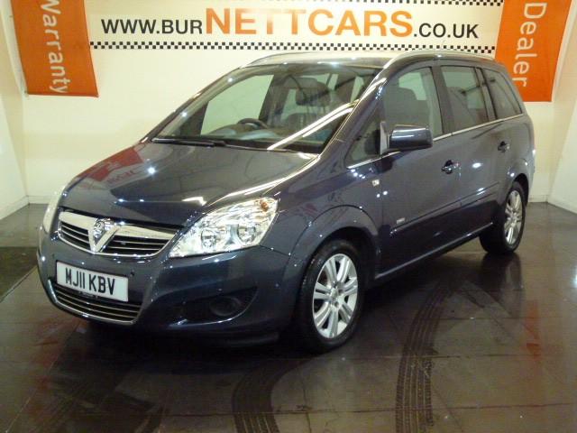 used Vauxhall Zafira DESIGN CDTI ECOFLEX in chorely-lancashire
