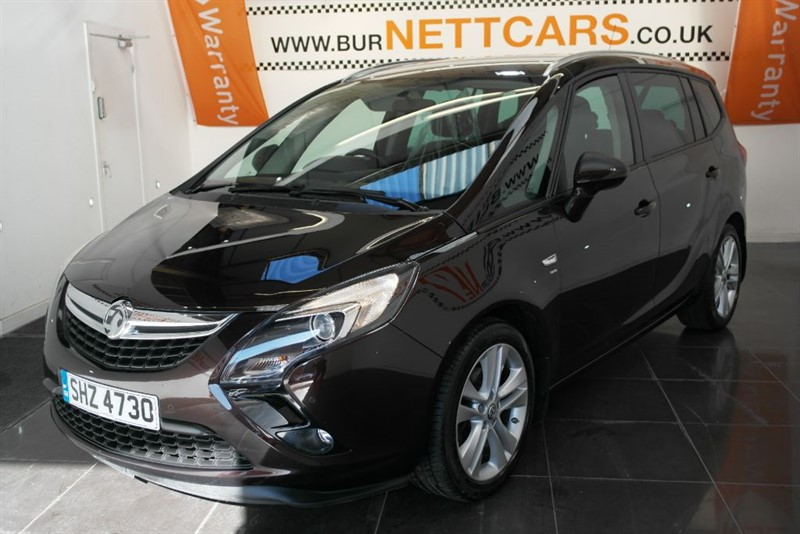 used Vauxhall Zafira TOURER SRI  in chorely-lancashire