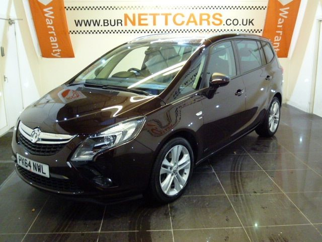used Vauxhall Zafira Tourer SRI CDTI in chorely-lancashire