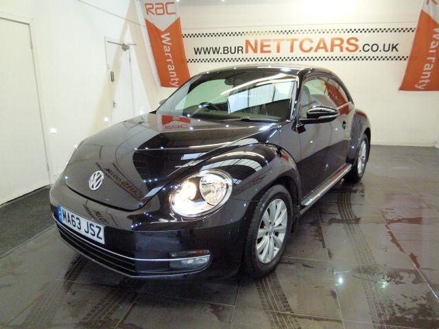 used VW Beetle DESIGN TDI BLUEMOTION TECHNOLOGY in chorely-lancashire