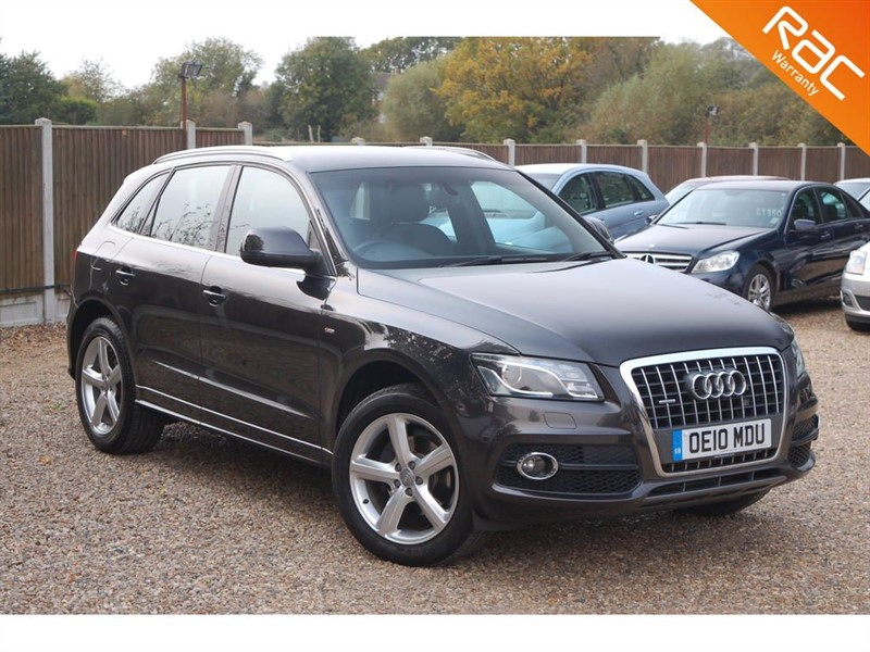 used Audi Q5 TFSI QUATTRO S LINE in tiptree-essex