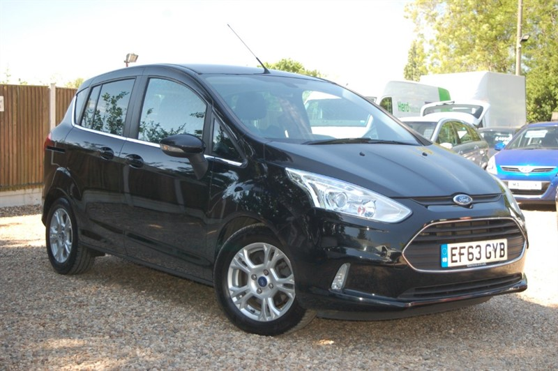 used Ford B-Max ZETEC in tiptree-essex