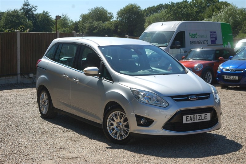 used Ford C-Max GRAND TITANIUM TDCI in tiptree-essex