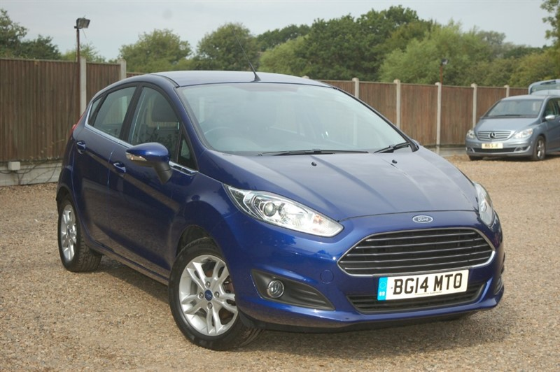 used Ford Fiesta ZETEC in tiptree-essex