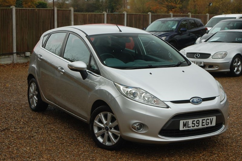 used Ford Fiesta ZETEC 16V in tiptree-essex