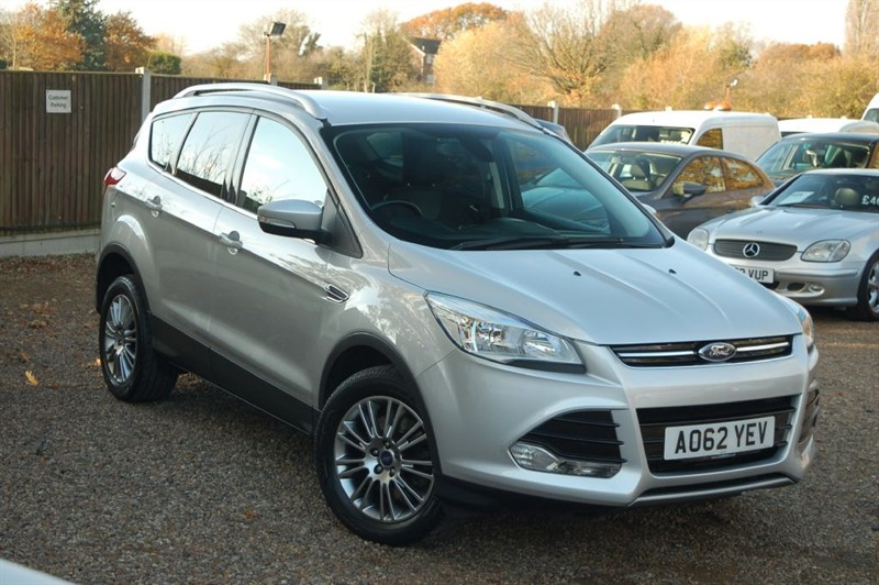 used Ford Kuga TITANIUM TDCI 2WD in tiptree-essex