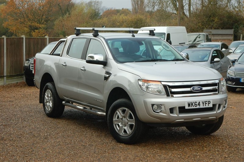 used Ford Ranger LIMITED 4X4 DCB TDCI in tiptree-essex