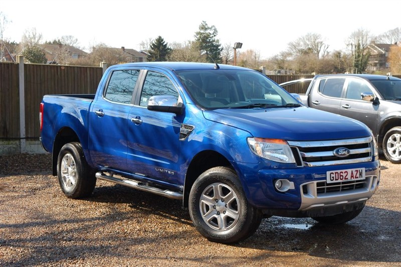 used Ford Ranger LIMITED 4X4 TDCI in tiptree-essex