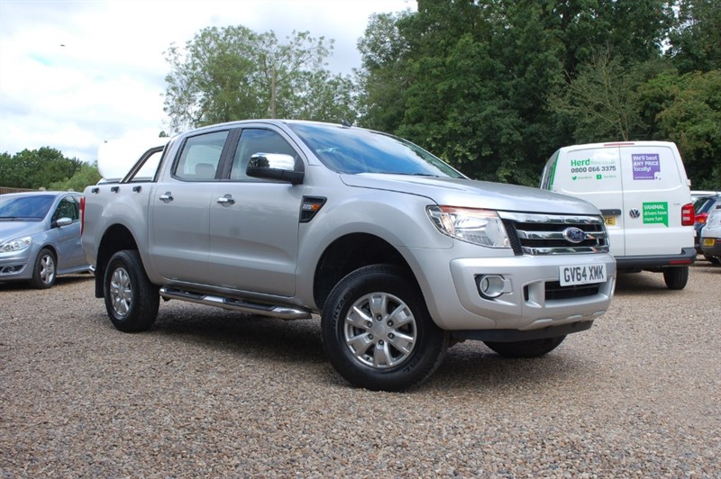 used Ford Ranger XLT 4X4 DCB TDCI in tiptree-essex