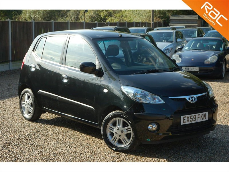 used Hyundai i10 COMFORT in tiptree-essex