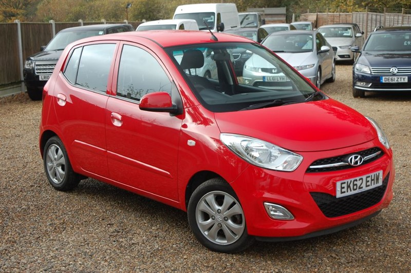 used Hyundai i10 ACTIVE in tiptree-essex