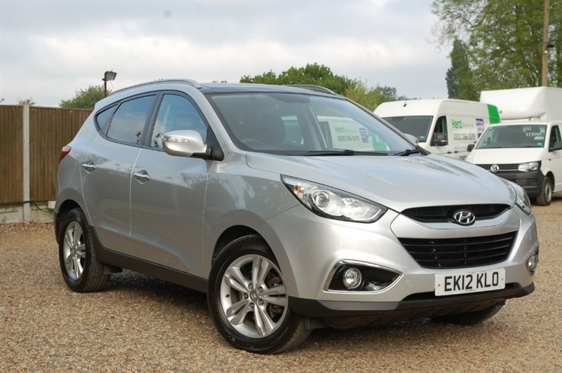 used Hyundai ix35 PREMIUM CRDI in tiptree-essex