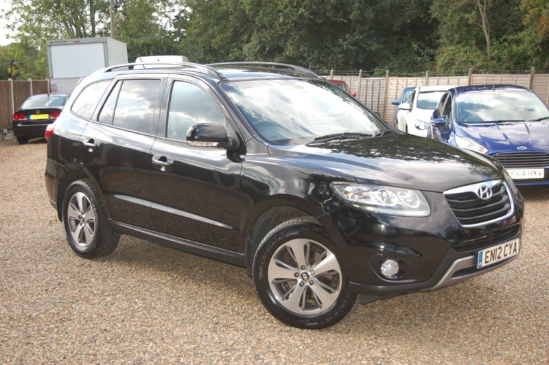 used Hyundai Santa Fe CRDI PREMIUM in tiptree-essex