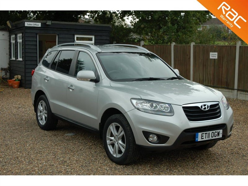used Hyundai Santa Fe PREMIUM CRDI in tiptree-essex