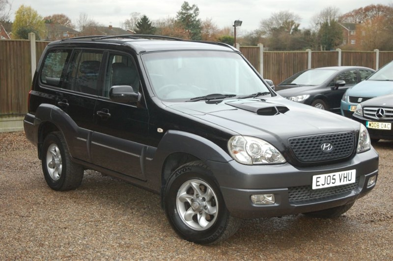 used Hyundai Terracan CDX CRTD in tiptree-essex