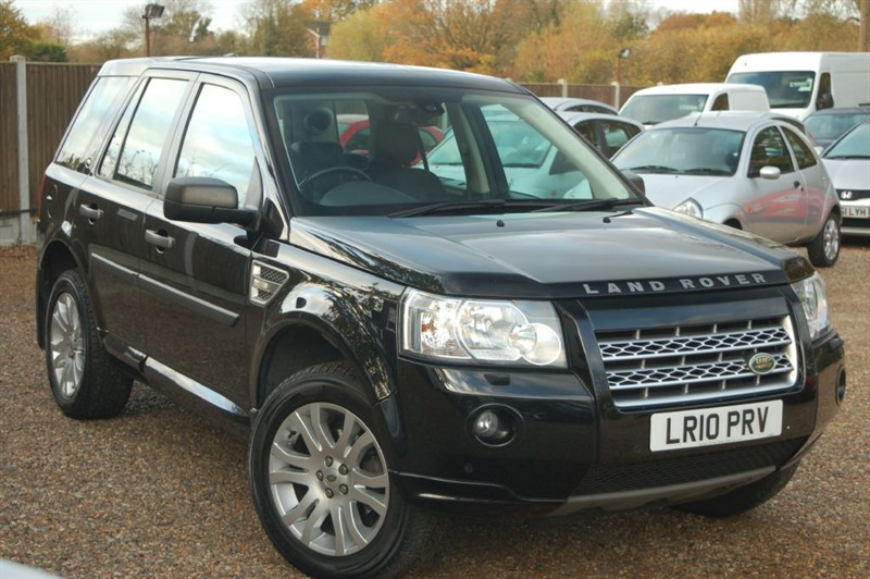 used Land Rover Freelander TD4 E HSE in tiptree-essex