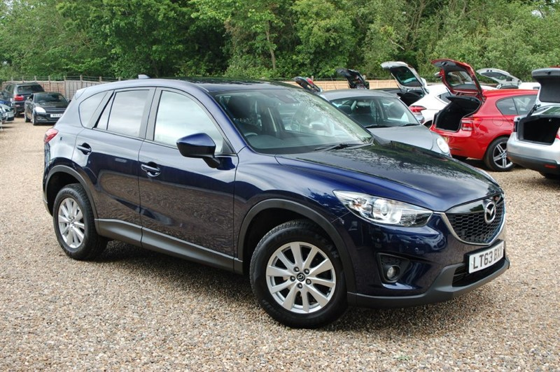 used Mazda CX-5 D SE-L NAV in tiptree-essex