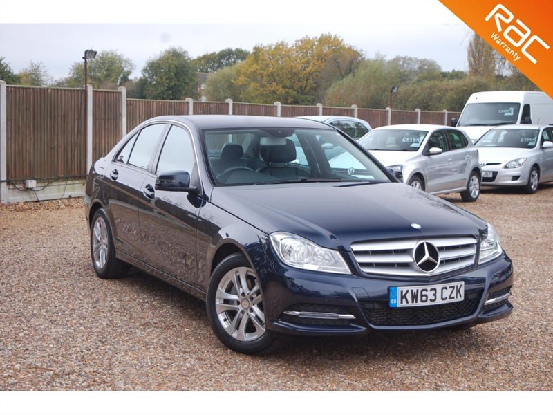 used Mercedes C180 BLUEEFFICIENCY EXECUTIVE SE in tiptree-essex