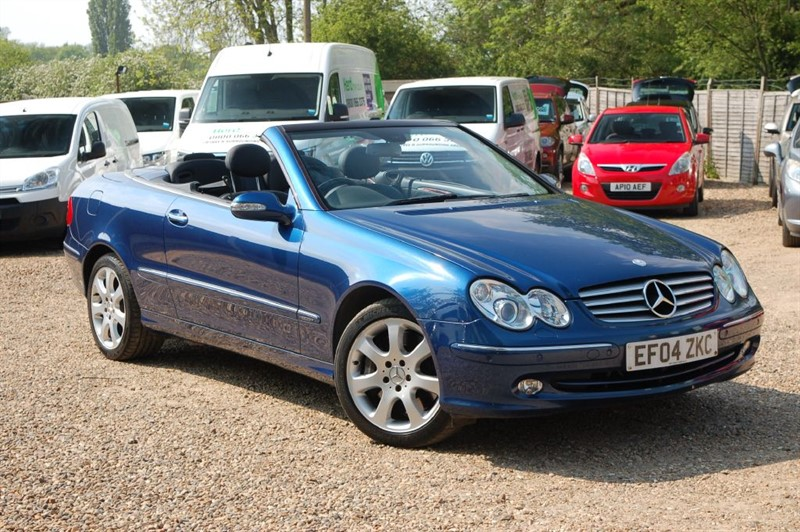 used Mercedes  CLK CLK500 ELEGANCE in tiptree-essex