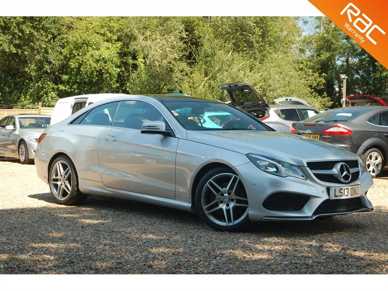 used Mercedes E220 CDI AMG SPORT in tiptree-essex