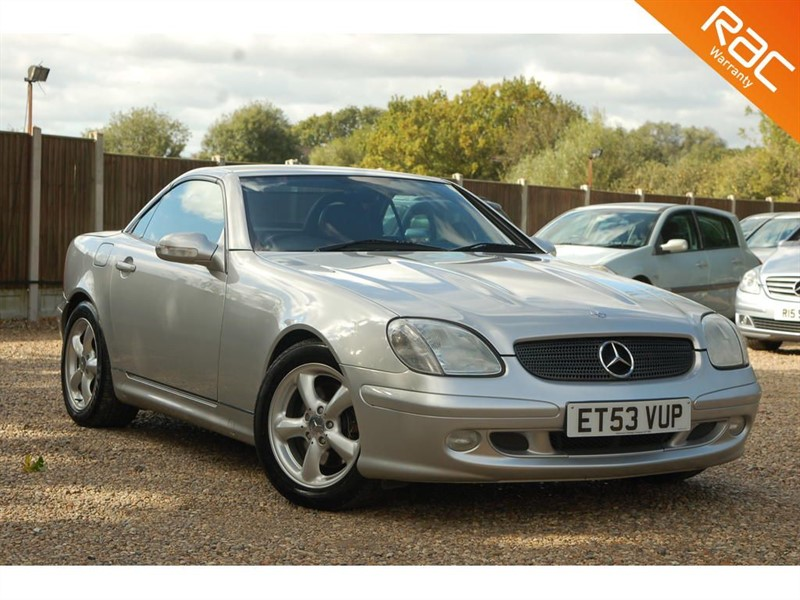 used Mercedes SLK SLK320 in tiptree-essex