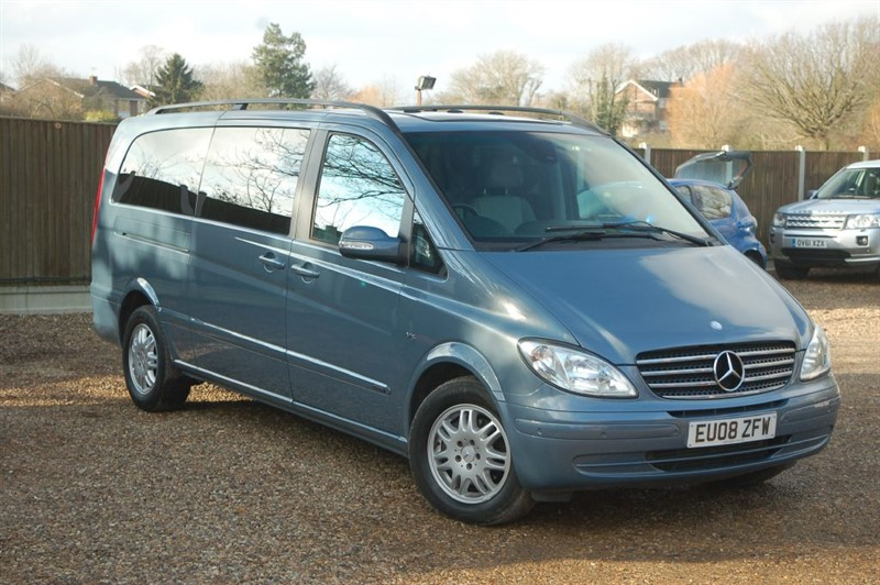 used Mercedes Viano CDI EXTRA LONG AMBIENTE in tiptree-essex