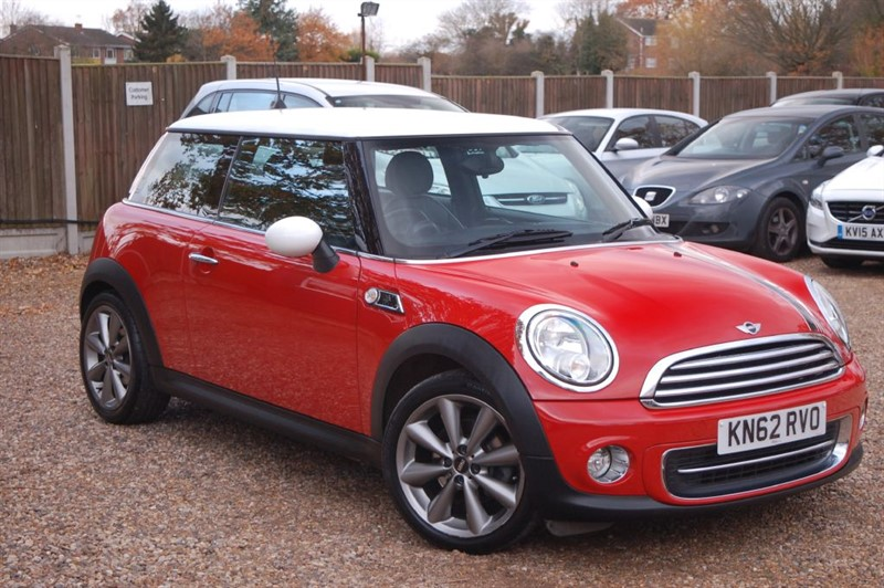 used MINI Hatch COOPER LONDON 2012 EDITION in tiptree-essex