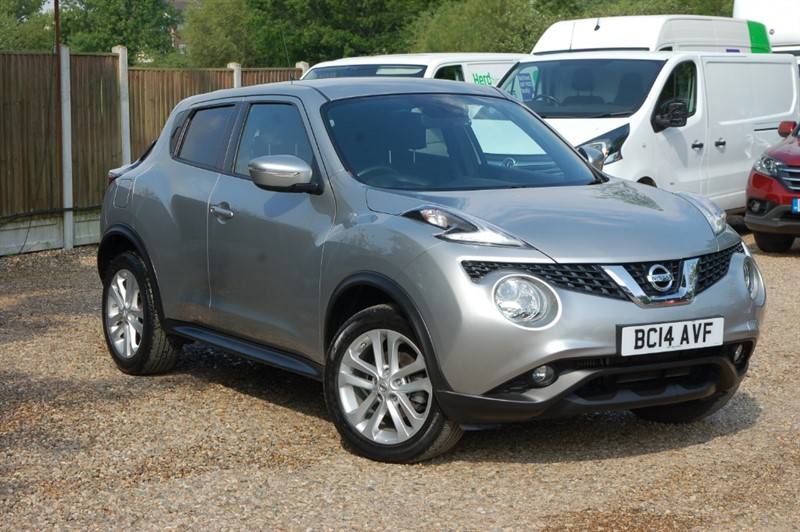 used Nissan Juke ACENTA PREMIUM DCI in tiptree-essex