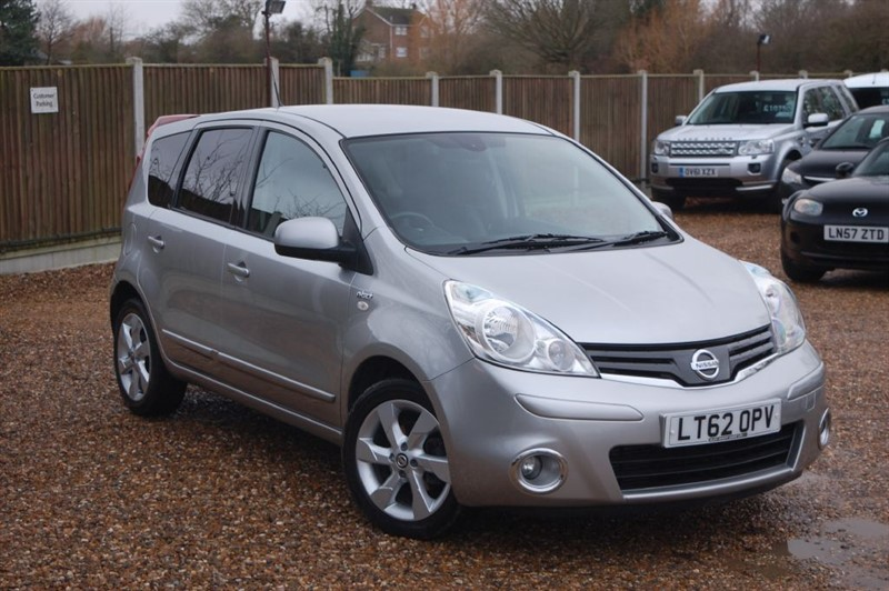 used Nissan Note N-TEC PLUS DCI in tiptree-essex