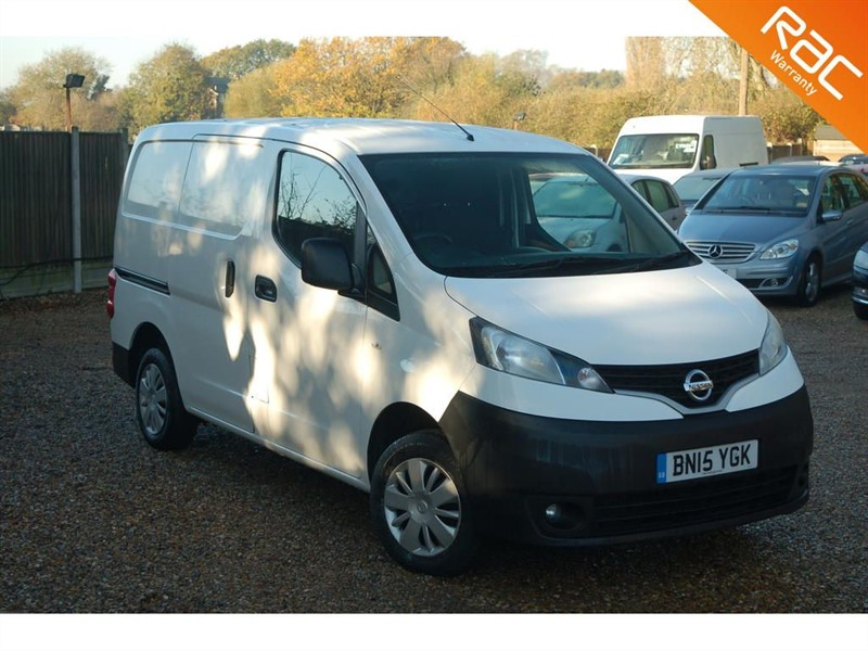 used Nissan NV200 DCI ACENTA in tiptree-essex