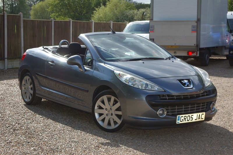 used Peugeot 207 SPORT COUPE CABRIOLET in tiptree-essex